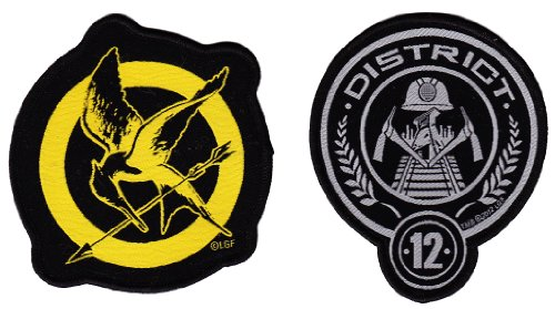 The Hunger Games Set Of District 12 And Mockingjay 3 Patches Buy