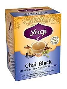 Yogi Chai Black Tea, 16 Tea Bags (Pack of 6)