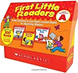img - for First Little Readers: Guided Reading Level A: A Big Collection of Just-Right Leveled Books for Beginning Readers book / textbook / text book
