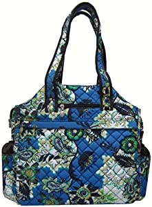 Jetpac (Life is Tennis) Quilted Tennis Tote (Perennial Sky)