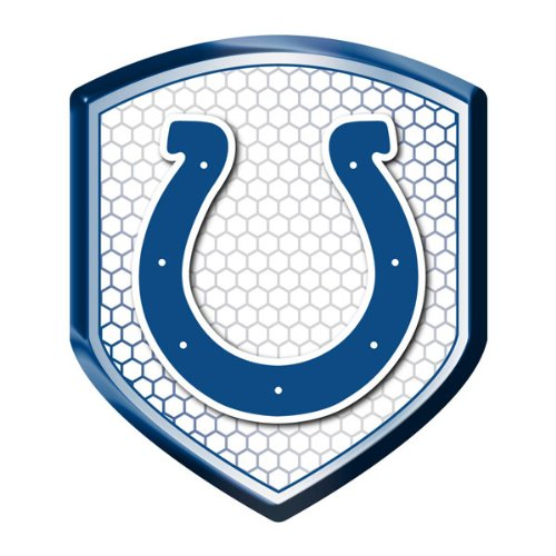 Indianapolis Colts NFL Reflector Decal Auto Shield for Car Truck Mailbox Locker Sticker Football Licensed Team Logo at Amazon.com
