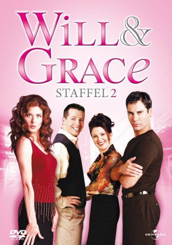 Will & Grace - Staffel 2 [4 DVDs]