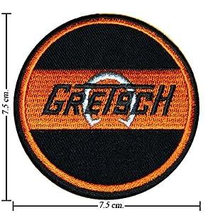 Gretsch Guitar Music band Emblem Ecusson brodé patche Patches
