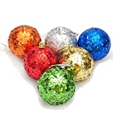 Sweet Home Christmas Baubles-Red, Copper, Gold, Green, Silver, Blue Decoration