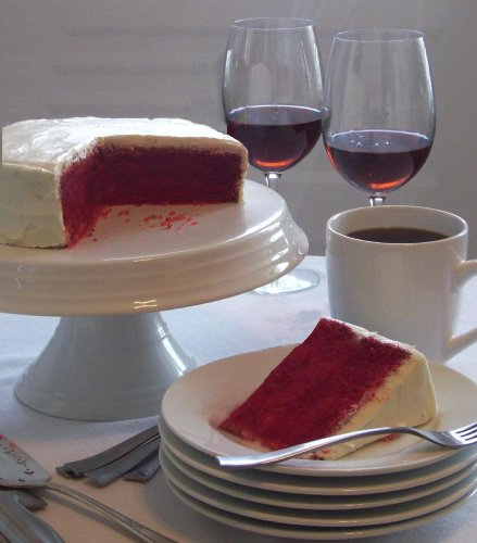 Red Wine Velvet Cake w/ Cream Cheese Frosting Dessert Mix