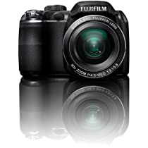 Fujifilm FinePix S4000 14 MP Digital Camera with Fujinon 30x Super Wide Angle Optical Zoom Lens and 3-Inch LCD
