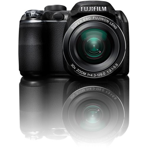 51HtGEpKdYL Fujifilm FinePix S4000 14 MP Digital Camera with Fujinon 30x Super Wide Angle Optical Zoom Lens and 3 Inch LCD