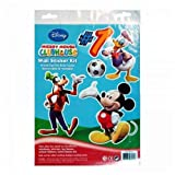 Mickey Mouse wall stickers kids baby nursery room home decor