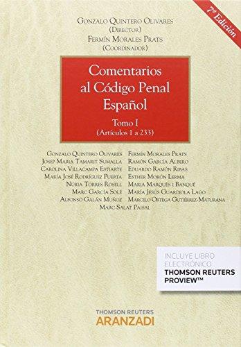 Comentarios al Código Penal Español ( 2 Vols) (Gran Tratado)