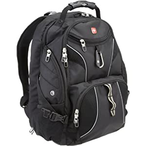 SwissGear SA1923 ScanSmart Backpack –  Black