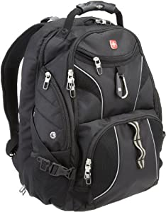 SwissGear SA1923 ScanSmart Backpack - Black