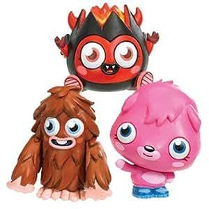 Moshi Monsters Diavlo Furi y Las Figuras Poppet Desechables