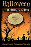 Halloween Coloring Book: Approved for adults who color for pleasure and stress relief