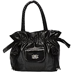 FrenchXD Handbag (Black) (FXDNHBALR175)