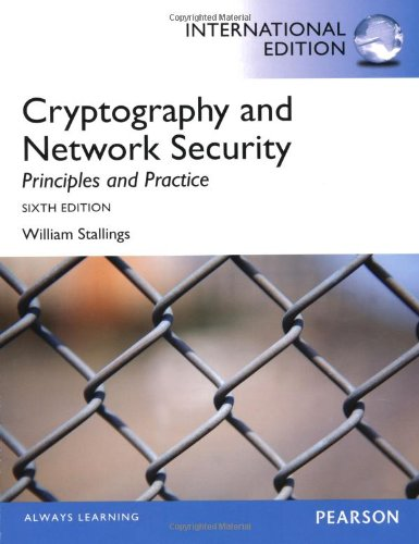 Cryptography and Network Security: Principles and Practice