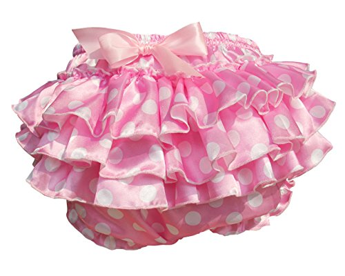 Haian ABDL PVC & Satin Ruffle Rhumba Pull on Plastic Pants (X-Large, Pink) (Adult Diapers And Plastic Pants compare prices)