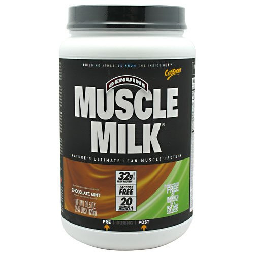 Cytosport: Muscle Milk Chocolate Mint Chip 2.47 Lb
