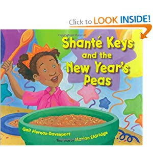 Shanté Keys and the New Year's Peas