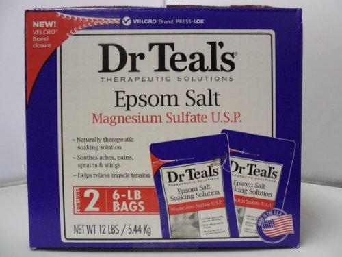 Dr Teal 39 S Epsom Salt 2 6 Lb Bags Shopswell
