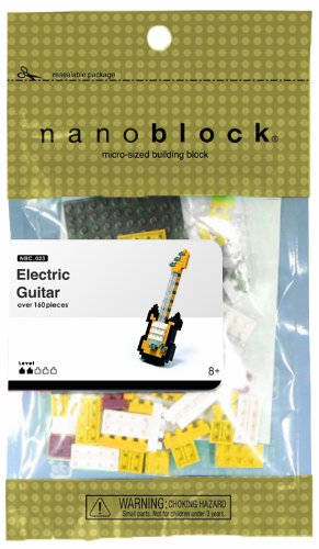 Nanoblock Electric Guitar