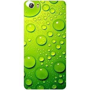 Casotec Green Bubbles Design 3D Printed Hard Back Case Cover for Gionee Marathon M5 lite