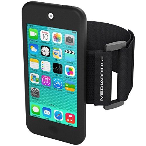 iPod Touch 5th Generation アイポッド タッチ 5g 第5世代 第五世代 腕 Armband アームバンド ケース カバー ブラック 保護フィルム付き ジム 運動 ウォーキング ランニングに