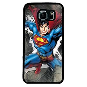 Urbanzone Super man Mobile back Case and cover for Samsung S6 Edge - Colorful