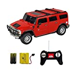 Shopcros Racer R-C Rechargeable 1:24 Hummer H2 Suv Red