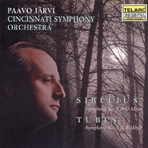Sibelius: Symphony No. 2, Tubin: Symphony No. 5