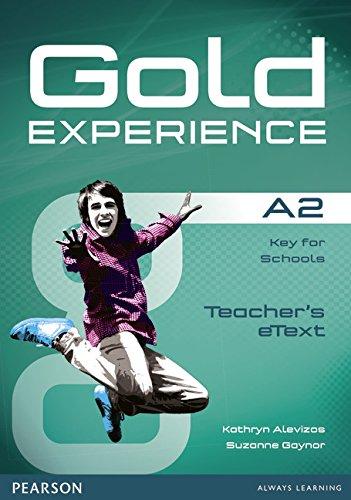 Gold Experience A2 Teacher Etext CD-ROM
