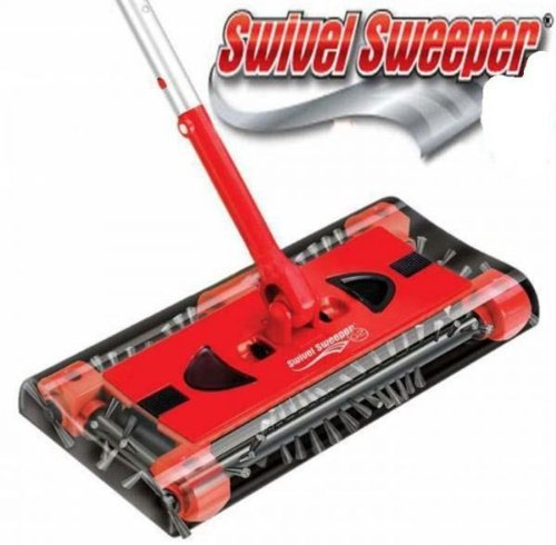 Swivel Cordless Floor and Carpet Sweeper (As Seen On Tv Sweeper compare prices)