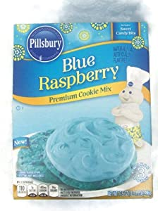 Pillsbury Blue Raspberry Premium Cookie Mix 17.5 oz. (Pack of 2)