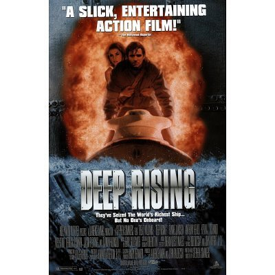 DEEP RISING ORIGINAL MOVIE POSTER Movie Original Poster Print, 27x41