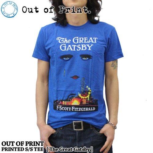 (アウトオブプリント)OUT OF PRINT Tシャツ / 華麗なるギャッツビー /The Great Gatsby [M]