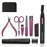 Sharper Image Si Trimmer With Manicure Set, Pink, 10.6 Ounce