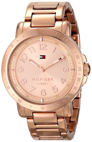 Tommy Hilfiger Women's 1781396 Rose Gold-Tone Watch - 51HtmxVB5cL - Tommy Hilfiger Women's 1781396 Rose Gold-Tone Watch