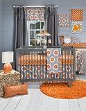 Sweet Potato Crib Bedding Set, Rhythm, 3 Piece