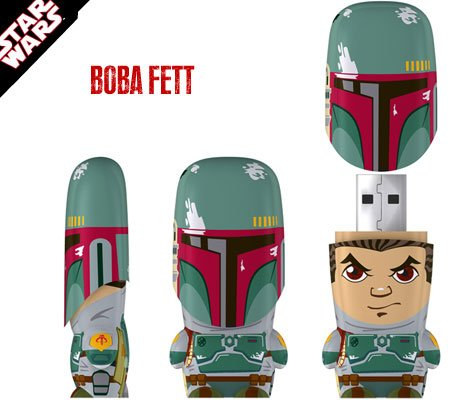 Star Wars Mimobot 4 GB USB Flash Drive - Boba 
