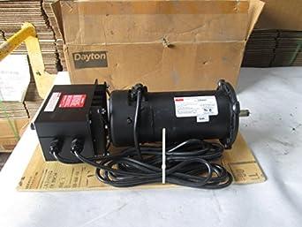 Dayton 2z846d Permanent Magnet Dc Motor W Dc Speed