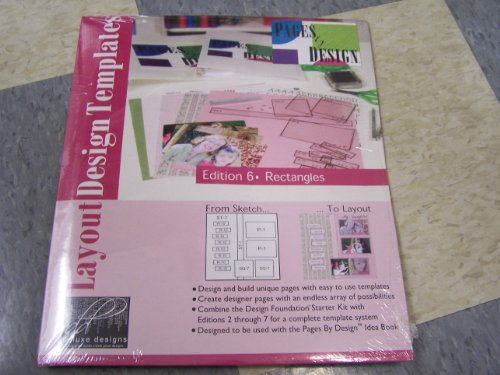 Deluxe Designs Pages By Design Layout Design Templates Edition 6: Rectangles