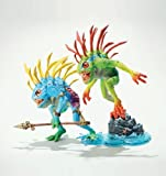World of Warcraft Series 4: Murloc Action Figure 2-Pack: Fish-eye and Gibbergill