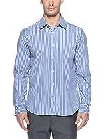 Uominitaliani Camisa Hombre 663Gq 561.7 (Azul Celeste)