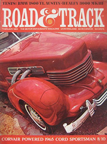 road-track-magazine-02-1965-featuring-austin-healey-road-test-hispano-suiza-bmw-cord