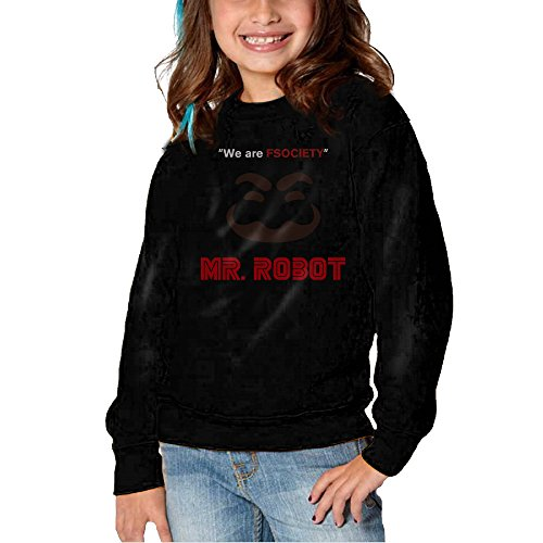 HNJK We Are FSociety Youth Soft And Cozy Crew Neck Tee 2 Toddler (White Collar Season 2 Blu Ray compare prices)
