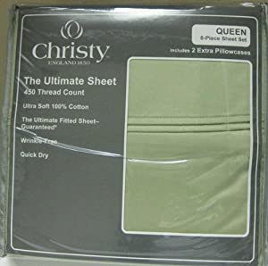 Amazon Com Christy Queen Size 450 Thread Count Ultimate