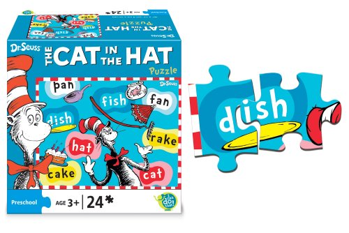 Dr. Seuss The Cat in the Hat Puzzle (I Can Do That Cat In The Hat compare prices)