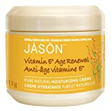 Jason Natural 25,000 I.U. Vitamin E Age Renewal Moisturizing Creme, 4-Ounce Jars (Pack Of 2)