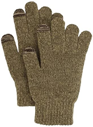 Touchpoint Women's Marled Touchpoint Glove, Camel Multi, One Size