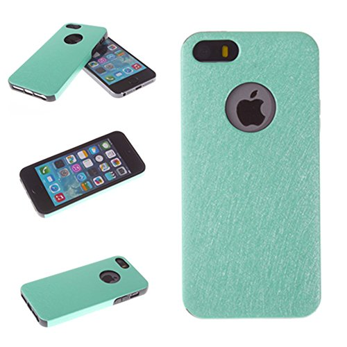 Big Dragonfly High Quality Silk Pattern Soft Bumper Case Tpu Silicone Rubber Back Cover Case For Iphone 5 5S 5G (Aquamarine) front-765399