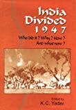 img - for India Divided 1947 book / textbook / text book